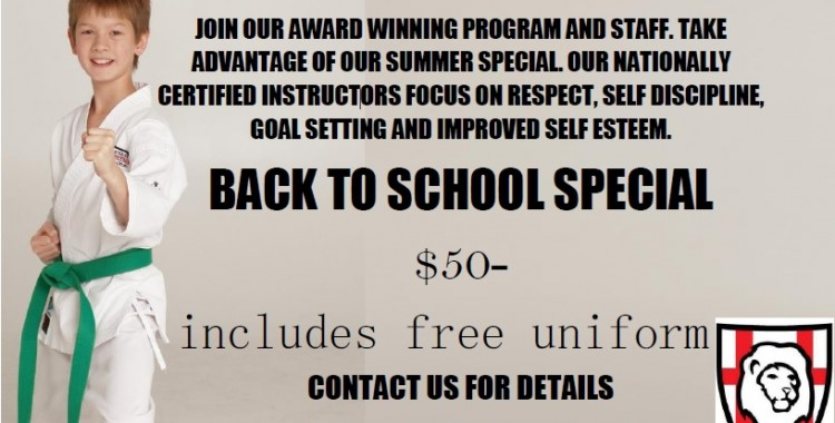 Back-to-School Special!