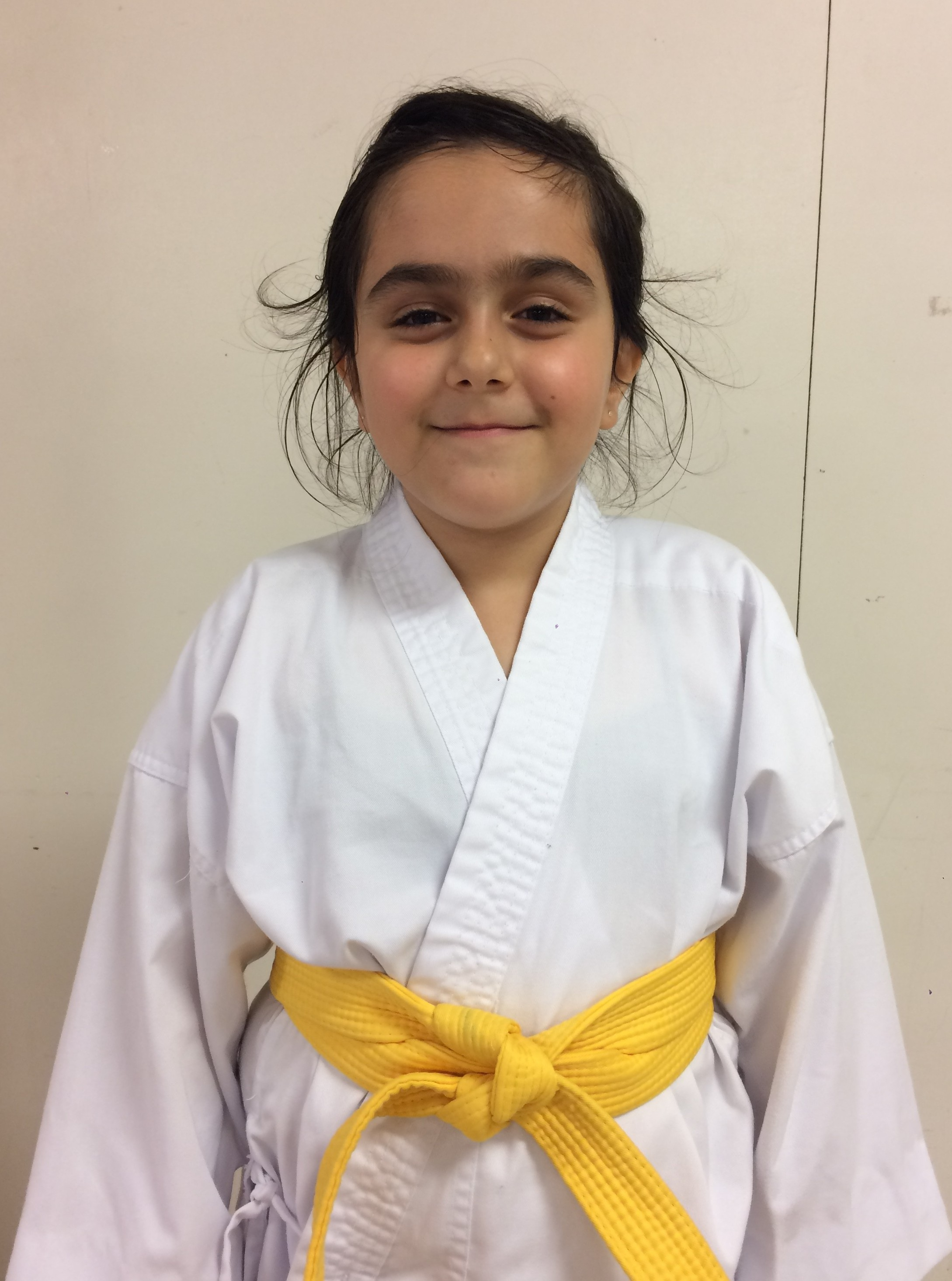 Sienna-Student of the month